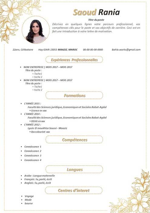 CV Magnifique