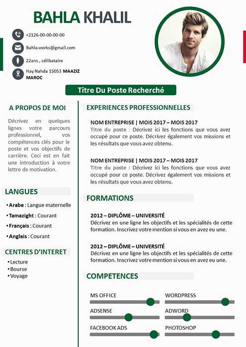 CV Algérie