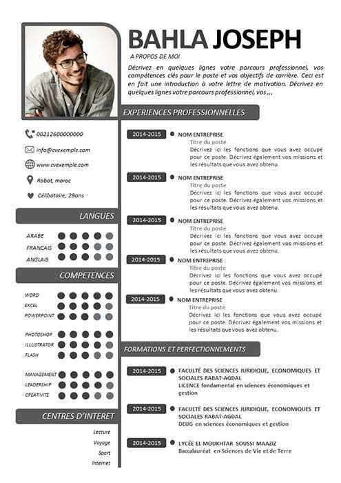 CV Compétences