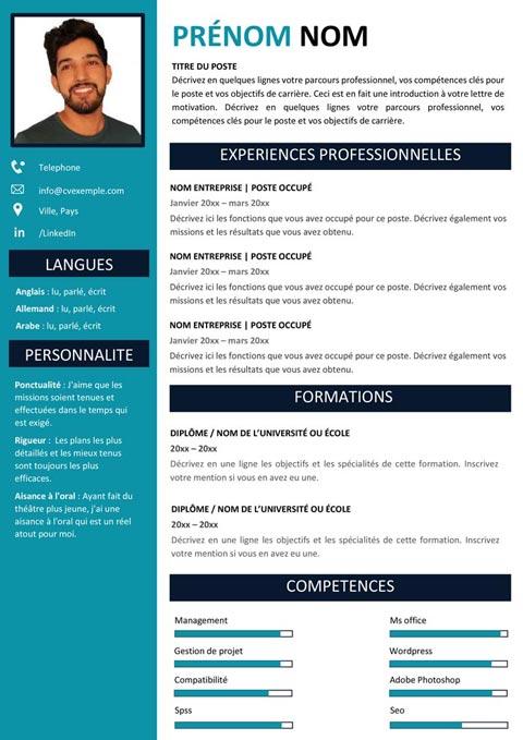 CV Efficace