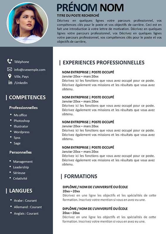 CV Dynamique